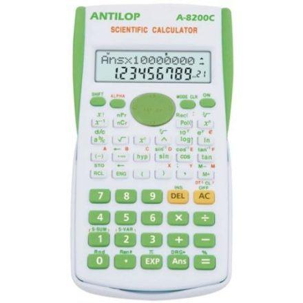 Antilop 8200C Tudományos Számológép, Zöld