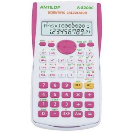 Antilop 8200C Tudományos Számológép, Pink