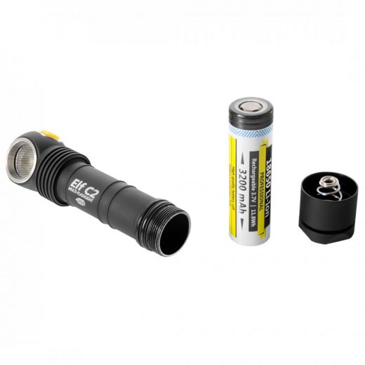 Armytek Elf C2 - Meleg Fehér - 980 LED lm - USB töltés - Akkuval