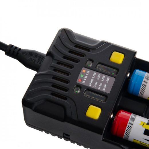Armytek Uni C2 Akkumulátor Töltő