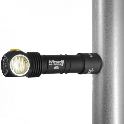 Armytek Wizard Magnet USB - Meleg Fehér - 1120 LED lm - Akkuval