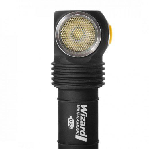 Armytek Wizard Magnet USB - 1250 LED lm - Akkuval