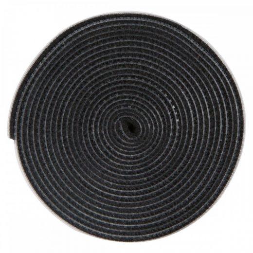 Baseus Rainbow Circle Tépőzáras Szalag - 3M - Fekete