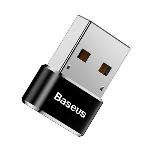 Baseus USB adapter USB-C (anya) - USB-A (apa) - 5A - Fekete