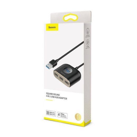 Baseus Square Round USB Hub - USB 3.0 - 1x USB 3.0 + 3x USB 2.0 - 1m