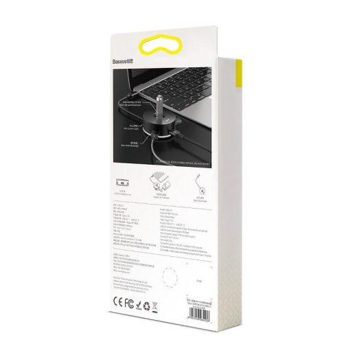 Baseus Round Box USB-C Hub - 1x USB 3.0 + 3x USB 2.0 - 15 cm - Fehér