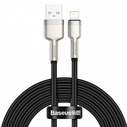 Baseus Cafule USB - Lightning Kábel - 2m 2,4A - Fekete