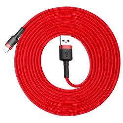 Baseus Cafule USB - Lightning Kábel - 3m 2A - Piros