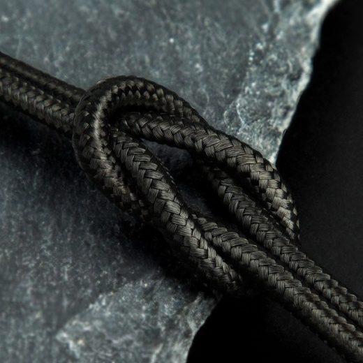 Baseus Halo Micro USB Kábel - 3A 1m - Fekete