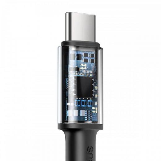 Baseus High Density Braided USB-C - USB-C Kábel - 1m 100W - Fekete