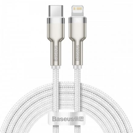 Baseus Cafule USB-C - Lightning Kábel - 2m 20W PD - Fehér
