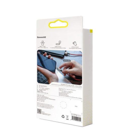 Baseus Zinc Mágneses USB - USB-C Kábel - 1m 3A - Lila