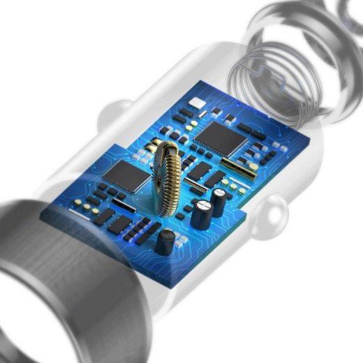 Baseus Autós Töltő Small Screw - 2xUSB - 3,4A