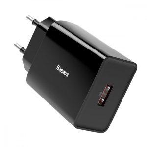Baseus Speed Mini Hálózati Gyorstöltő - 1xUSB - PD + QC 3.0 18W