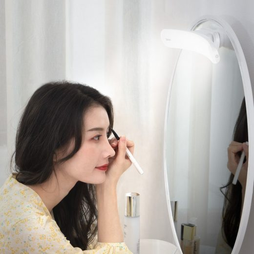 Baseus Sunshine LED Tükörlámpa - Fehér