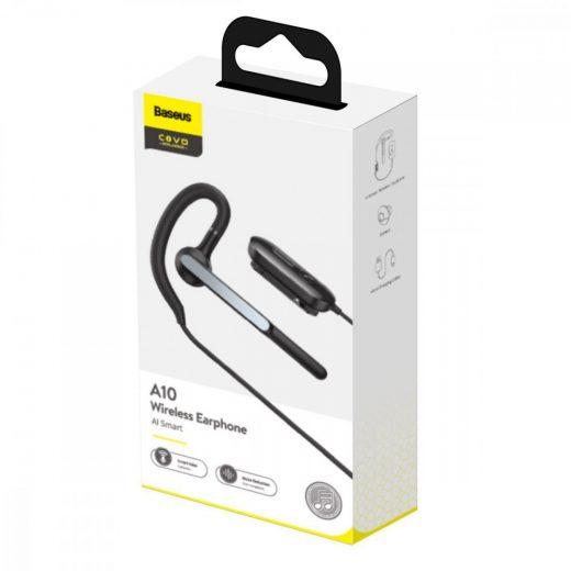 Baseus COVO AI Smart A10 Bluetooth Mono Headset - Fekete