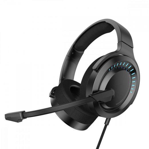 Baseus GAMO Immersive Virtual 3D Mikrofonos Gamer Fejhallgató - Fekete