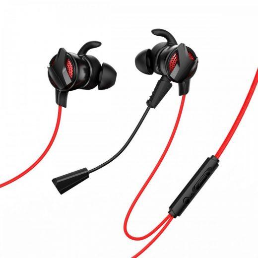 Baseus GAMO H15 Mikrofonos Gamer Fülhallgató - Piros