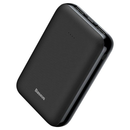 Baseus Mini JA PowerBank 10000 mAh -  2x USB - Fekete