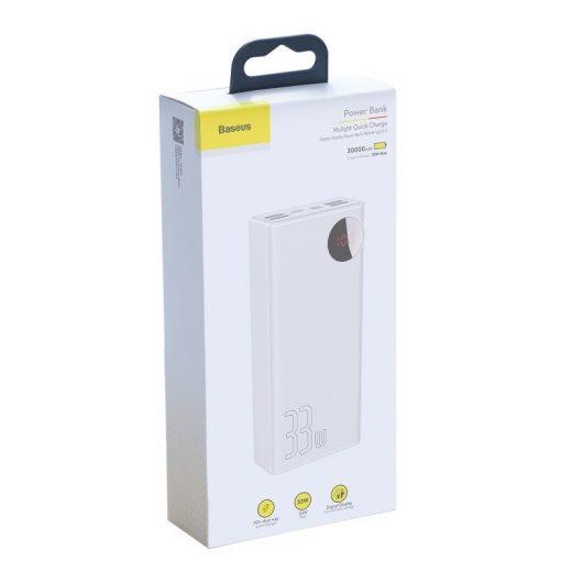 Baseus Mulight Powerbank 30000 mAh - 4x USB, QC 3.0, PD - Fekete