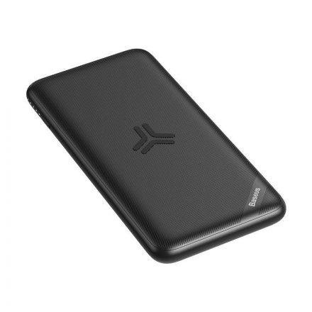 Baseus PowerBank és Vezeték Nélküli Töltő S10 Bracket - 10000 mAh 10W - Fekete