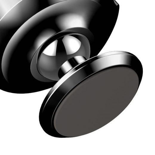 Baseus Small Ears Vertical Mágneses Autós Tartó - Műszerfalra - Fekete