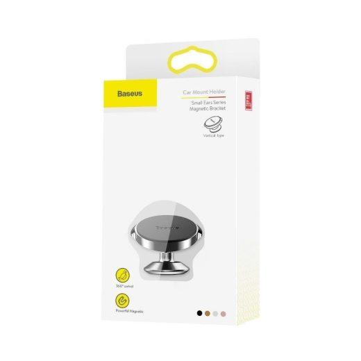 Baseus Autós Tartó Small Ears Series - Mágneses - Műszerfalra - Fekete