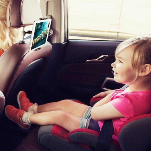 Baseus Autós Tartó Backseat - Fejtámlára - Fekete