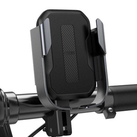 Baseus Armor Motoros és Kerékpáros Tartó - Fekete