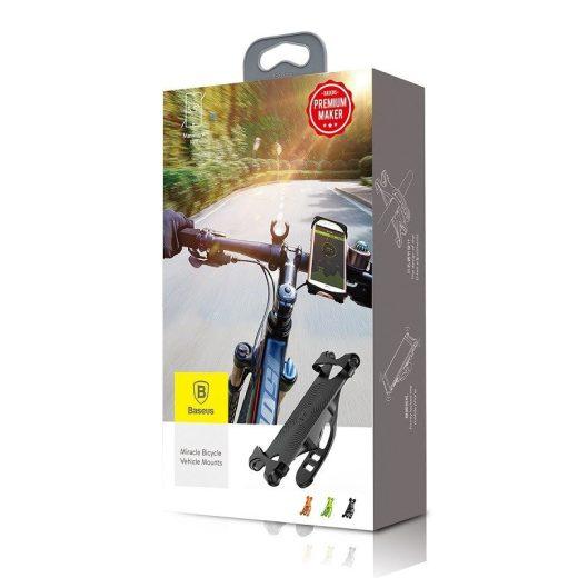 Baseus Miracle Kerékpáros Tartó - Fekete