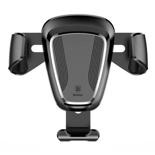 Baseus Gravity Autós Tartó - Szellőzőrácsba - Fekete