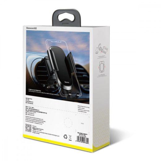 Baseus Autós Tartó Future Gravity - Szellőzőrácsba - Fekete