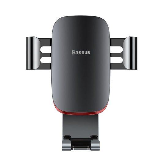 Baseus Autós Tartó Metal Age Gravity - Szellőzőrácsba - Fekete