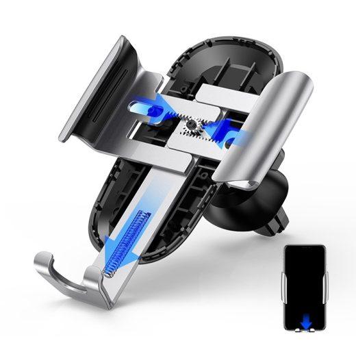 Baseus Autós Tartó Future Gravity Car Mount - Szellőzőrácsba - Fekete