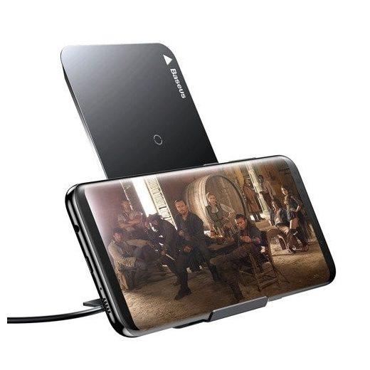 Baseus Vezeték Nélküli Qi Töltő - USB-C - Fekete