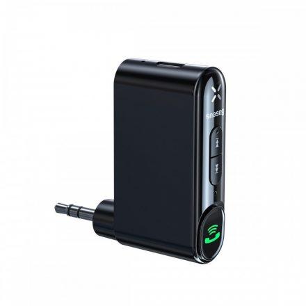 Baseus Qiyin Bluetooth 5.0 Autós Audio Adapter - Fekete