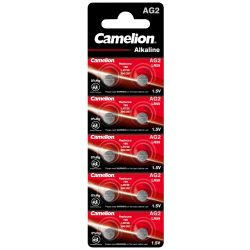 Camelion AG2 (LR59) Alkáli Gombelem, 10 db