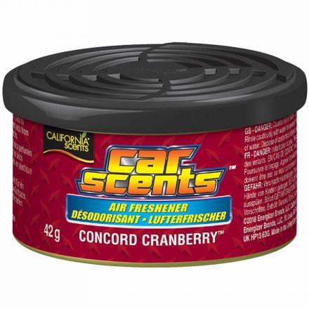 California Scents Concord Cranberry Autóillatosító