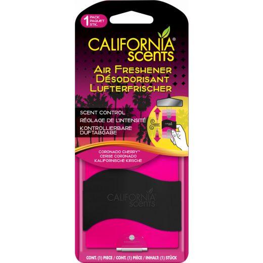 California Scents Coronado Cherry Akasztós Autóillatosító