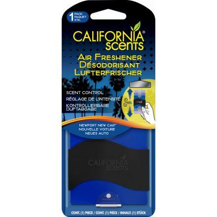 California Scents NewPort New Car Akasztós Autóillatosító