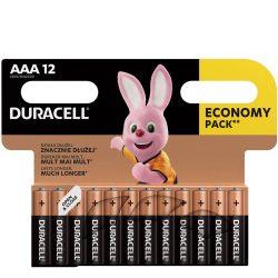 Duracell Basic AAA LR03 MN2400 Mikro Elem x 12 db