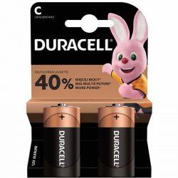 Duracell Basic C LR14 MN1400 Baby Elem x 2 db