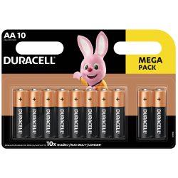 Duracell Basic AA LR6 MN1500 Ceruza Elem, 10 db
