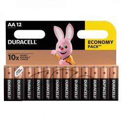 Duracell Basic AA LR6 MN1500 Ceruza Elem, 12 db