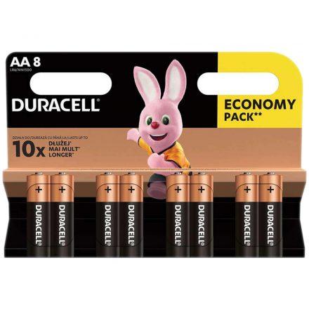 Duracell Basic AA LR6 MN1500 Ceruza Elem x 8 db