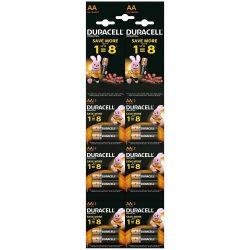 Duracell Basic AA LR6 MN1500 Ceruza Elem HBDC, 12 db