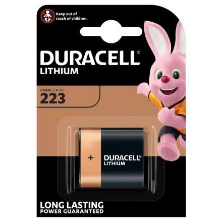 Duracell 223 CR-P2 6V Lítium Fotó Elem