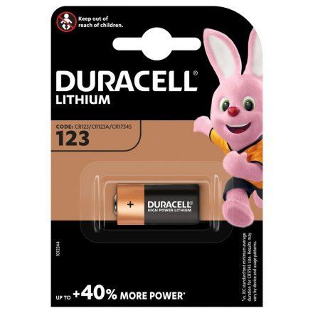 Duracell CR123 3V Lítium Fotó Elem