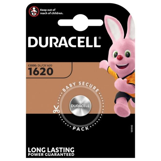 Duracell CR1620 Gombelem
