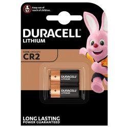 Duracell CR2 3V Lítium Fotó Elem, 2 db